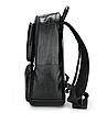 Рюкзак чоловічий шкіряний Feidika Bolo Style Чорний, фото 3