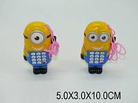 "Моб.телефон , ""Гадкий Я"", батар., в кул. 13*6см (864шт/2)"