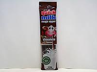 Трубочки для молока Quick Milk Magic Sipper Chocolate Flavour шоколад 5 шт