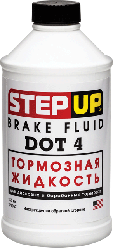 Step Up Тормозная жидкость DOT 4   355 мл