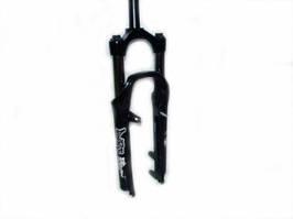 """Вилка MTB 26"""" RST DIRT T под диск/под v-brake диам - 28,6 мм ход-100 шток - 260мм пружинно-эластомерная черный"""
