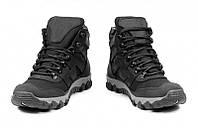 Ботинки зимние женские водостойкие комбинированные Offroad 27з черные, фото 1