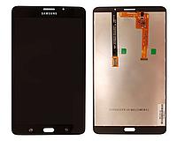 Оригинальный дисплей (модуль) + тачскрин (сенсор) для Samsung Galaxy Tab A 7.0 T285 LTE (черный цвет)