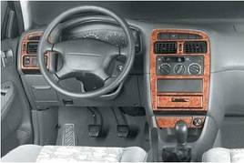 Накладки на панель - Toyota Avensis 1998-2003 гг.