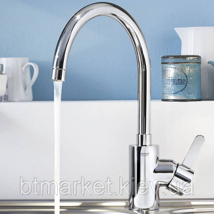 Кухонный смеситель Grohe Eurosmart Cosmo 32843000, фото 2