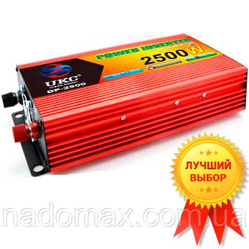 Автомобильный инвертор UKC-2500W Супер Качество!