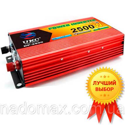 Автомобильный инвертор UKC-2500W Супер Качество!, фото 2