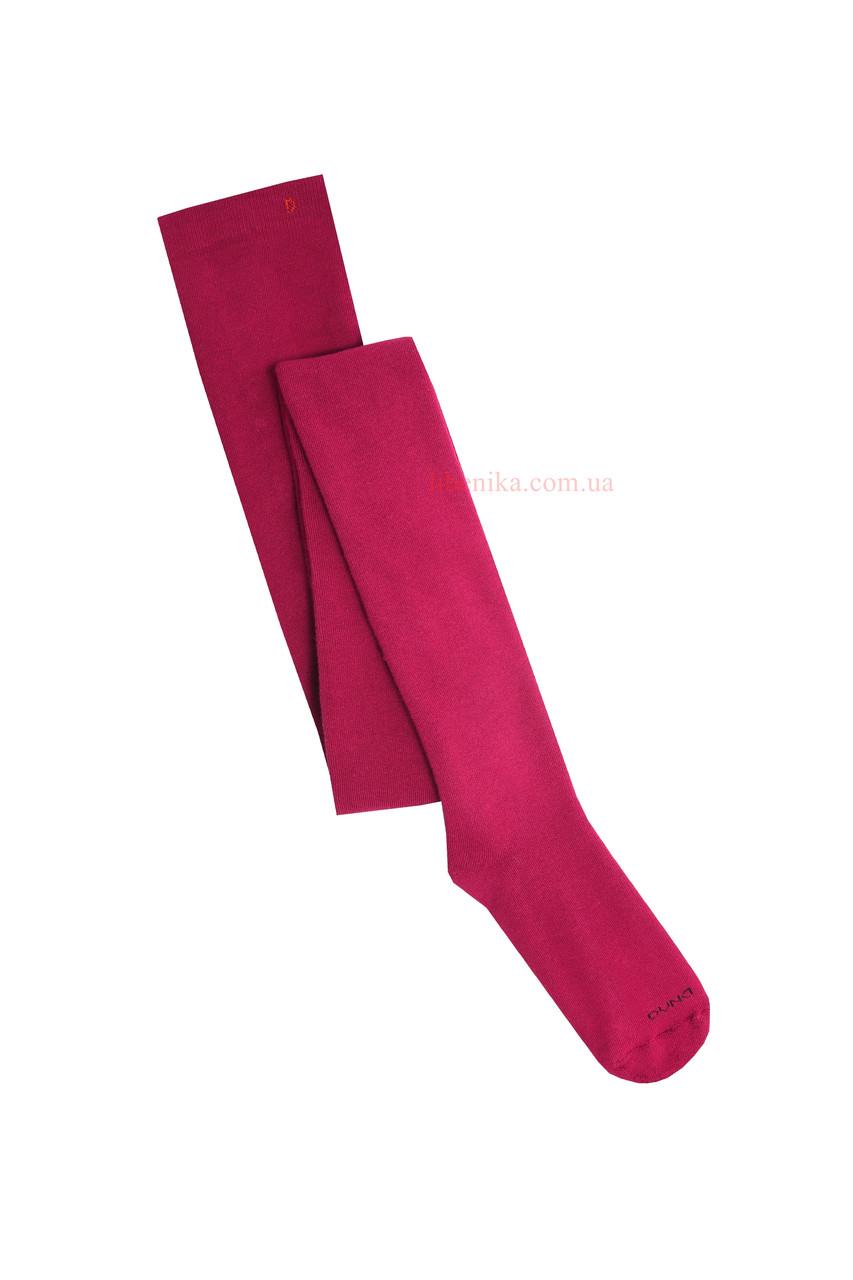 """Детские махровые колготки ТМ """"Дюна"""", вишнёвый цвет. Размеры: 110-116, 122-128, 146-152"""