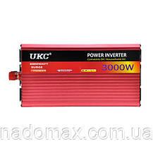 Автомобильный инвертор UKC-3000W Супер Качество!, фото 3