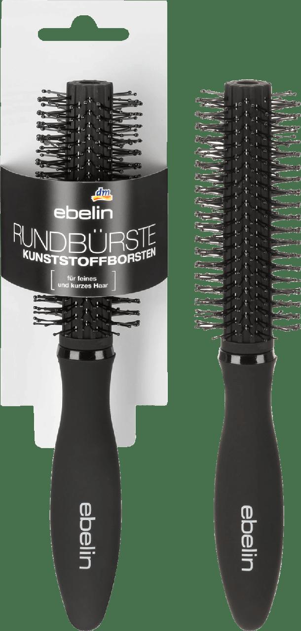 Круглая щетка для волос с пластмассовой щетиной ebelin Rundbürste