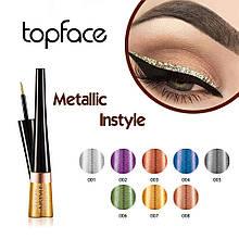 Подводка для глаз Instyle Metallic PT554 Topface