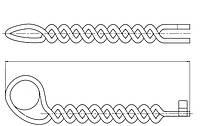 Вязка для бокового одностороннего крепления PLSDT3