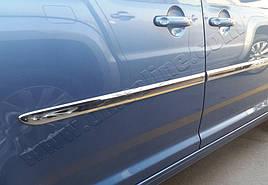 Накладки на молдинги (4 шт, нерж) - Volkswagen Caddy 2015+ гг.
