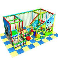 Детский игровой лабиринт «Щенячий патруль», 2*4 клетки