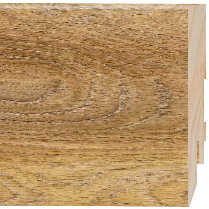 Плинтус напольный МДФ Prestige D264 Дуб Верден Медовый 2.4 м