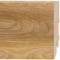 Плинтус напольный МДФ Prestige D264 Дуб Верден Медовый 2.4 м, фото 1
