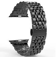 Металлический ремешок Primo Steel Link для часов Apple Watch 42mm / 44mm - Black