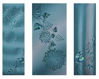 """Металокерамічний дизайн-обігрівач UDEN-S """"Атлантида"""" (триптих)"""