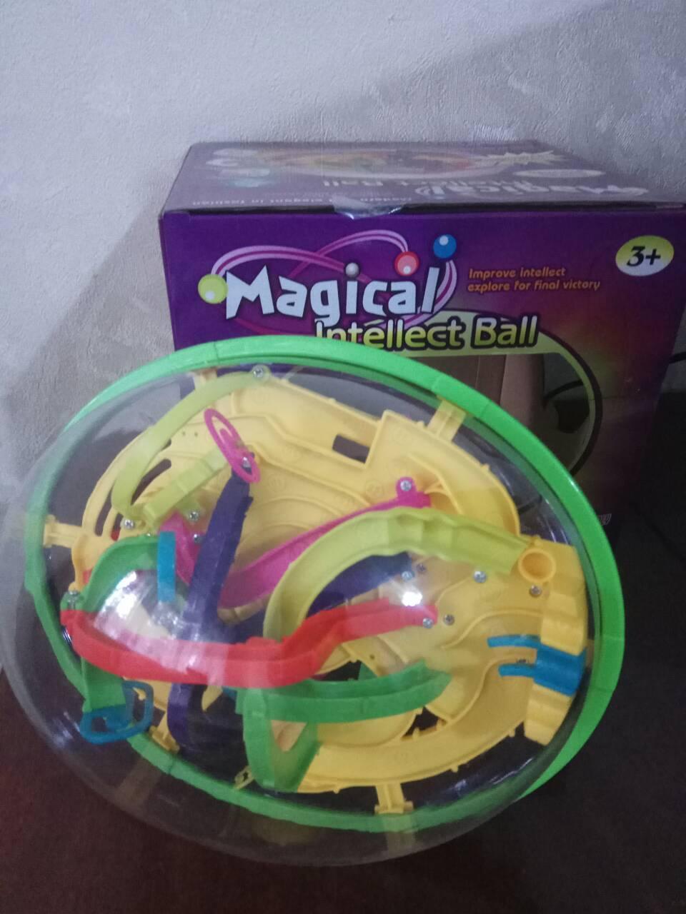 "Шар-лабиринт 208 шагов 3D Maze Ball ""Головоломка"" icoy toys 937 а"