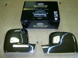 Накладки на зеркала (2 шт) - Volkswagen T5 Transporter 2003-2010 гг.