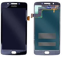 Дисплейний модуль для телефону Motorola Moto G5 XT1676 в зборі з тачскріном чорний