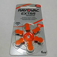 Батарейки для слухових апаратів Rayovac 13