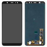 Дисплейный модуль Samsung J805F Galaxy J8 + LTE черный оригинальный