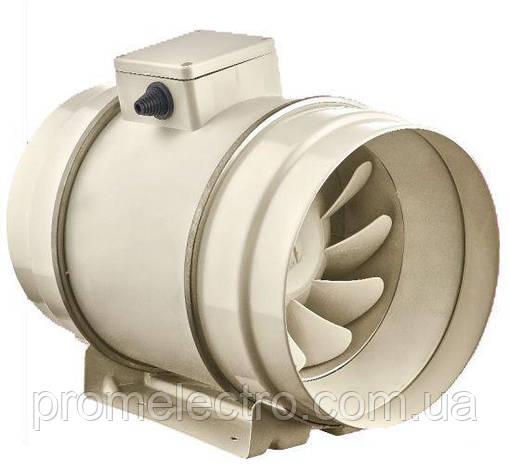Канальный осевой вентилятор (металл) BAHCIVAN BMFX 250, фото 2