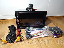 "Автомагнитола 2Din Pioneer 7023CRB 7"" Экран, Bluetooth, Читает ВИДЕО+ Пульт на руль+Рамка+Шахта+КАМЕРА, фото 3"