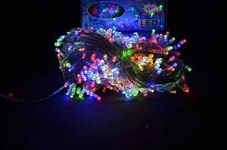 Новогодняя светодиодная гирлянда 300 диодов мульти 14.5м