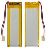 Акумулятор універсальний 70x19x3,4мм, Li-ion, 3,7 В, 500 мАг