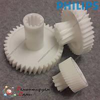 Шестерни для мясорубки Philips HR2730, HR2733, фото 1