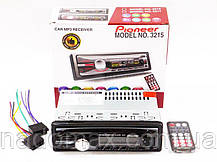 Автомагнитола Pioneer 3215 с USB, FM, AUX, 4*50W Сменная подсветка, фото 2