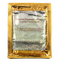 Маска для лица с коллагеном Colorful Diamond Collagen Crystal Mask (Зеленая)