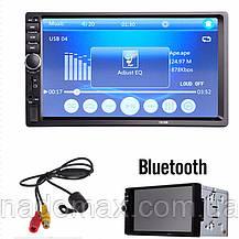 "Автомагнитола 2Din Pioneer 7018CRB с Экраном 7"" дюймов сенсор + USB, SD, FM, Bluetooth+КАМЕРА, фото 2"