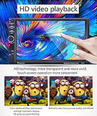 "Автомагнитола 2Din Pioneer 7020G 7"" Экран, GPS, Bluetooth, Читает ВИДЕО+ Пульт+Шахта!+ КАМЕРА, фото 3"