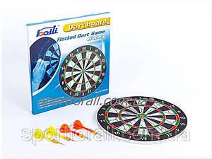 Мишень для игры в дартс из флока Flocked BL-12115 12in Baili (d-30см, в комплекте 4 дротика 6g).