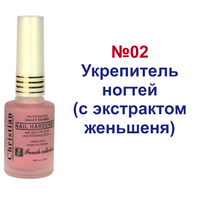Укрепитель ногтей (с экстрактом женьшеня) Christian Frensh collection
