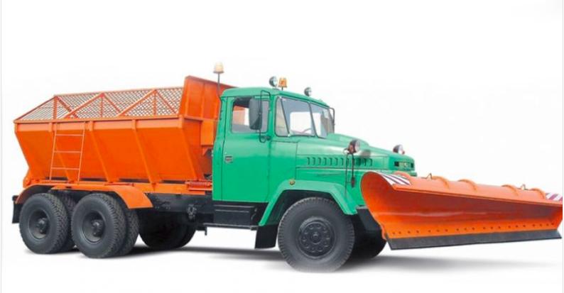 Снегоуборочная машина КРАЗ 65053-МДКЗ-30, фото 2