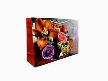 Пакет подарочный W4-1201 (25*36*10 см) микс, фото 2