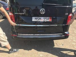 Планка под номером (нерж) - Volkswagen T6 2015+ гг.