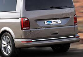 Кромка багажника (нерж) - Volkswagen T6 2015+ гг.
