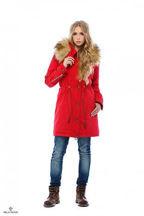 Зимняя Парки Красный, фото 2