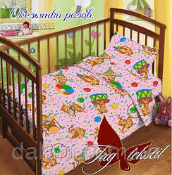 Комплект постельного белья детский в кроватку