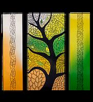 """Металокерамічний дизайн-обігрівач UDEN-S """"Осінній блюз"""" (триптих), фото 1"""