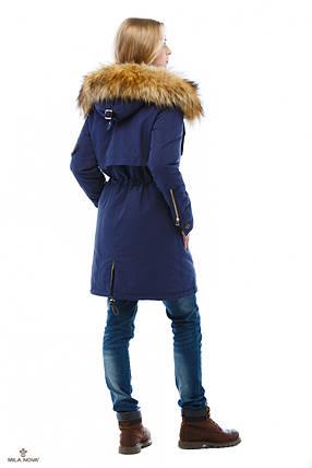 Зимняя Парки Синий, фото 2