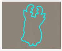 Вырубка кондитерская для пряника мастики марципана Оленёнок