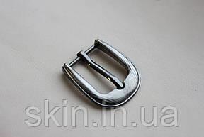 Пряжка ременная, ширина - 20 мм, цвет - никель, артикул СК 5327, фото 2