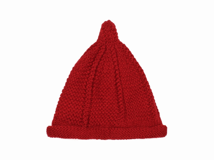 В'язана шапка червона чоловіча