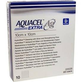 Aquacel Ag (Аквасель аргентум) 10х10см
